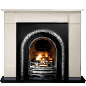 Lytton and Brompton Limestone Fireplace-0