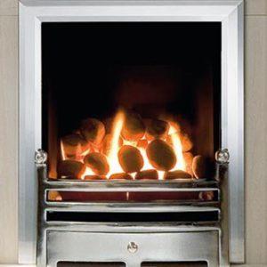 Hotbox Gas Fire and Trim Set-0