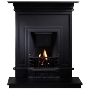 Barcelona Combination Cast Iron Fireplace-0