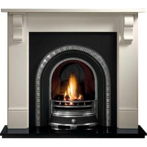 Henley and Stourhead Limestone Fireplace-0