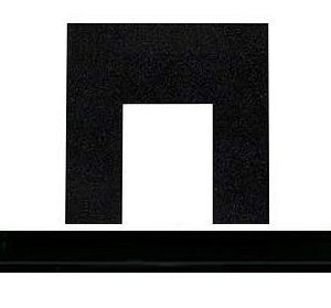 Granite Panel and Hearth Set Gas and Electric-0