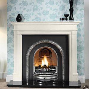 Lytton and Bartello Limestone Fireplace-0