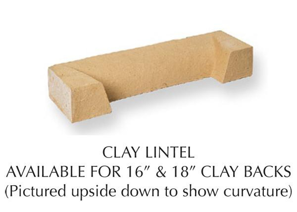 Throat Lintel for Clay Back-0