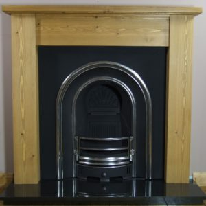 Monarch and Pine Lincoln Wooden Fireplace-0