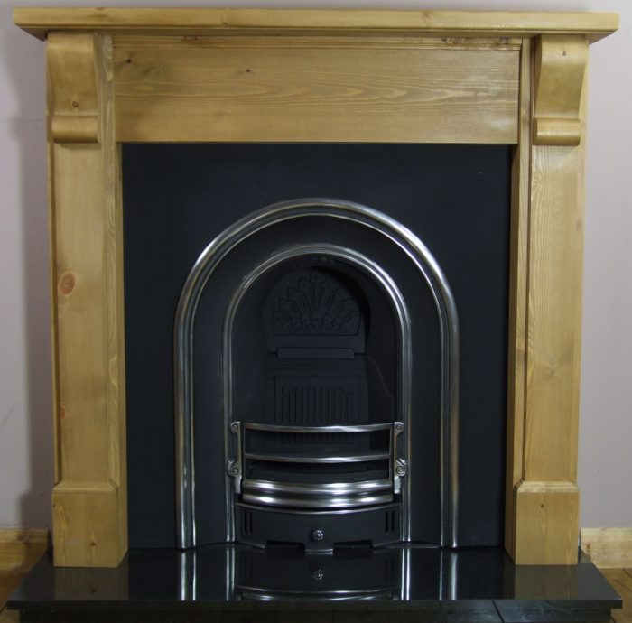 Monarch and Pine Bedford Wooden Fireplace-0