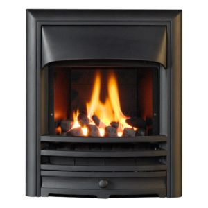Aurora Glass Fronted Convector Gas Fire-0