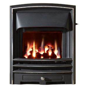 Lunar Glass Fronted Convector Gas Fire-0