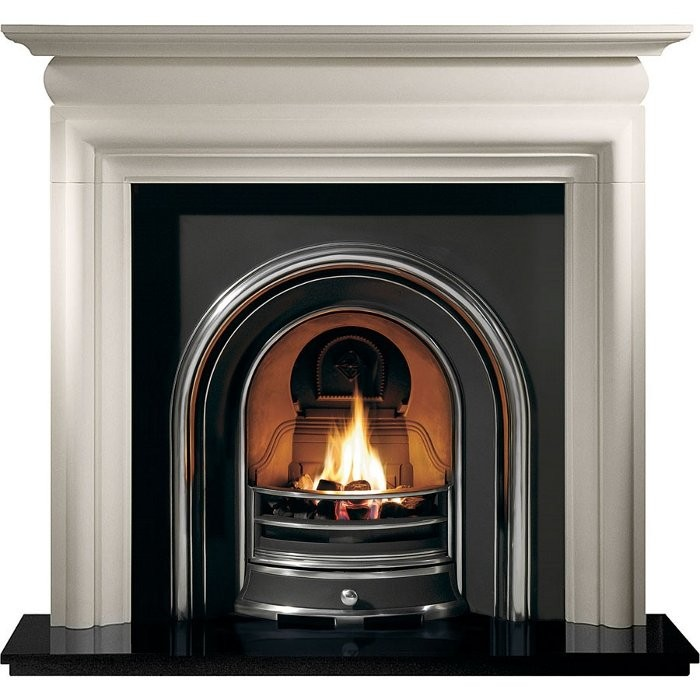 Jubilee and Asquith Limestone Fireplace-0