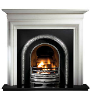 Lytton and Asquith Limestone Fireplace-0