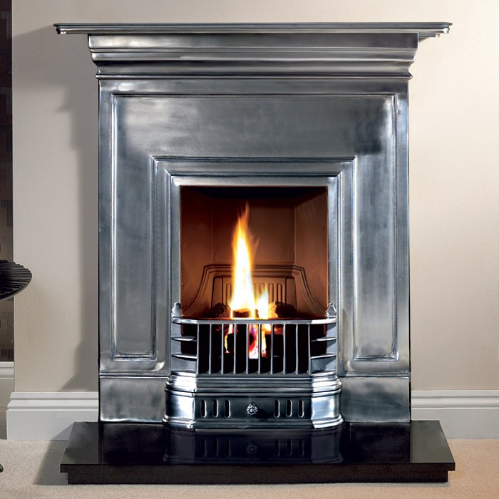 Barcelona Combination Cast Iron Fireplace-2355