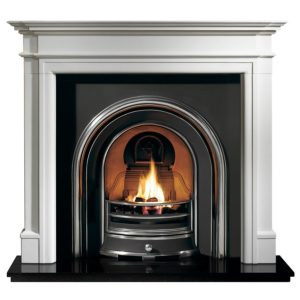 Jubilee and Bartello Limestone Fireplace-0