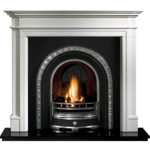Henley and Bartello Limestone Fireplace-0