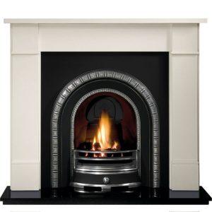 Henley and Brompton Limestone Fireplace-0