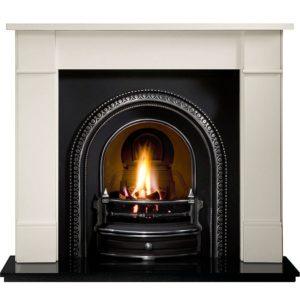 Radley and Brompton Limestone Fireplace -0