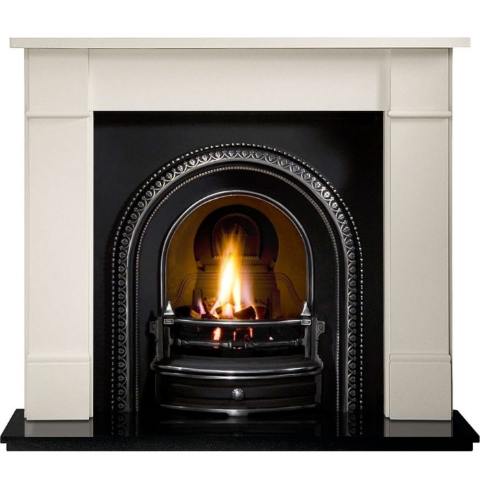 Radley and Brompton Limestone Fireplace -0