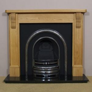 Lytton and Oak Stourhead Wooden Fireplace-0