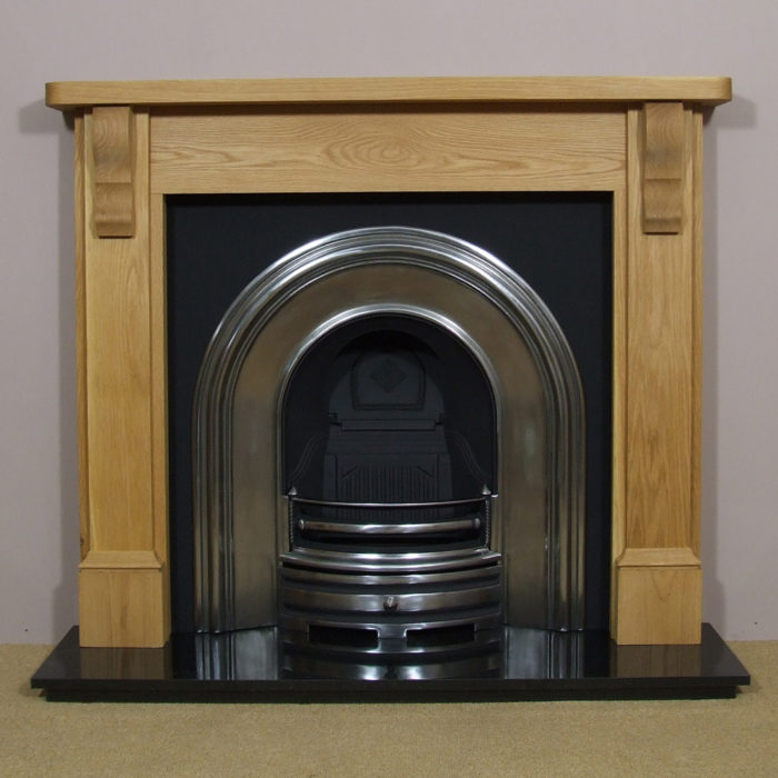 Crown and Oak Stourhead Wooden Fireplace-0
