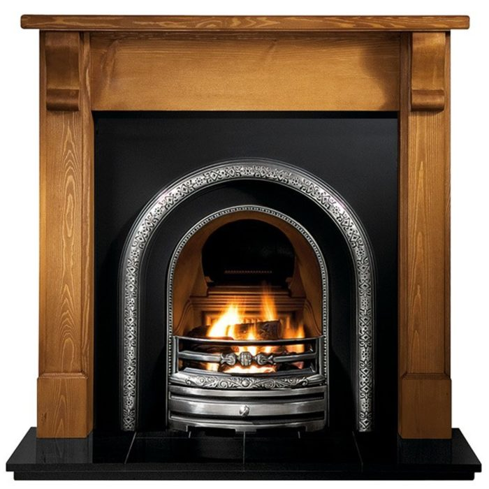 Lytton and Pine Bedford Gas Fireplaces Wooden -0