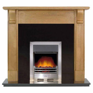 Granite Panel and Oak Bedford-0