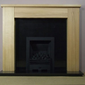 Granite Panel and Oak Cubley-0