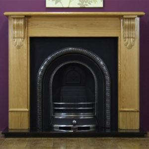 Henley and Oak Edinburgh Wooden Fireplace-0