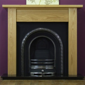 Henley and Oak Lincoln Wooden Fireplace-0