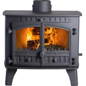 Hunter Herald 14 Woodburning Multi Fuel Stove-0