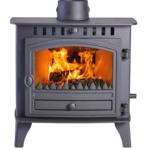 Hunter Herald 5 Slimline Woodburning Multi Fuel Stove-0