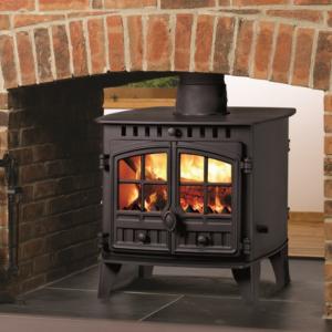 Hunter Herald 6 Double Sided Woodburning Multifuel Stove-0