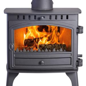 Hunter Herald 8 Slimline Woodburning Multi Fuel Stove-0