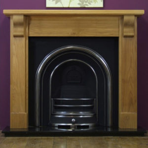 Jubilee and Oak Bedford Wooden Fireplace-0