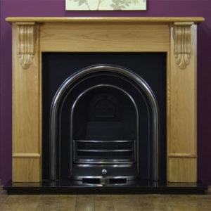 Jubilee and Oak Edinburgh Wooden Fireplace-0