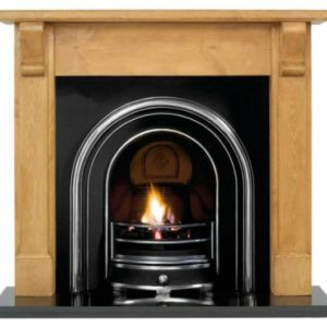 Jubilee and Pine Bedford Wooden Fireplace-0