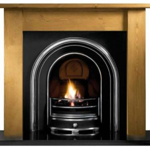 Jubilee and Pine Lincoln Wooden Fireplace-0
