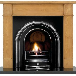 Jubilee and Pine Worcester Wooden Fireplace-0