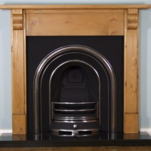 Jubilee and Pine Corbel Wooden Fireplace-0