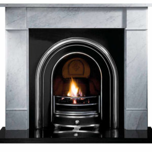 Jubilee and Flat Victorian Marble Fireplace-0