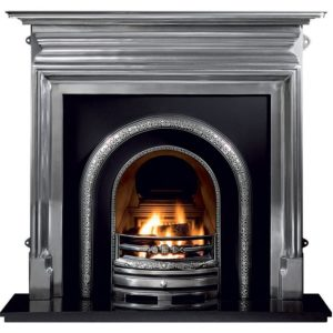 Lytton and Palmerston Cast Iron Fireplace-0