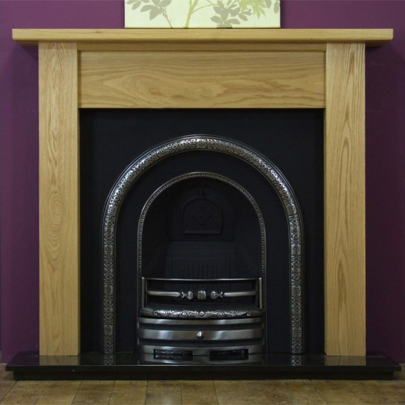 Lytton and Oak Lincoln Wooden Fireplace-0