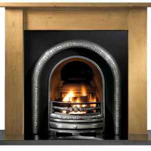 Lytton and Pine Lincoln Wooden Fireplace-0