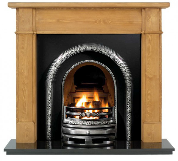 Lytton and Pine Worcester Wooden Fireplace-0