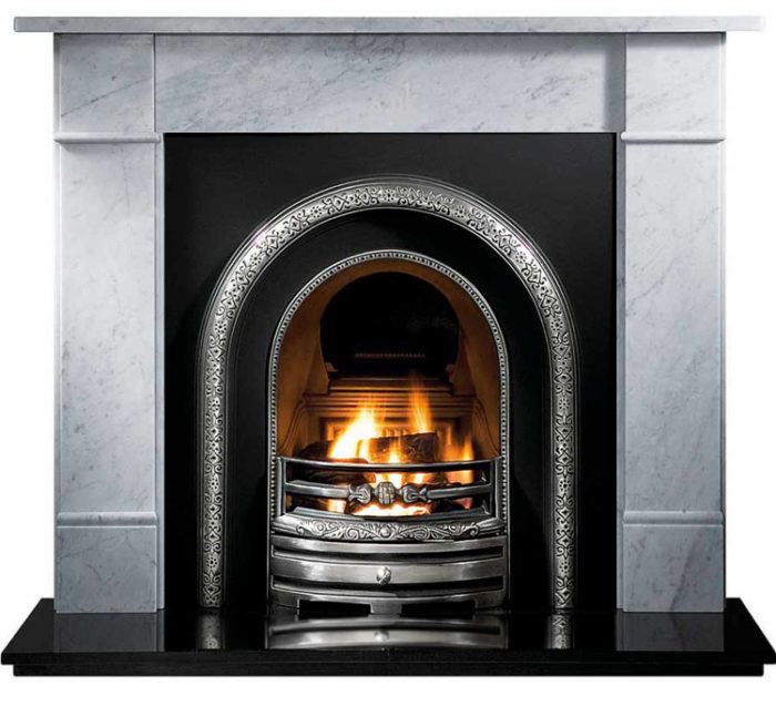 Lytton and Flat Victorian Marble Fireplace-0