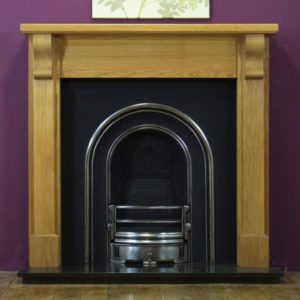 Monarch and Oak Bedford Wooden Fireplace-0