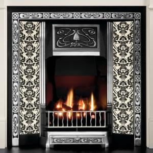Northmoor Tiled Insert Fireplace-0