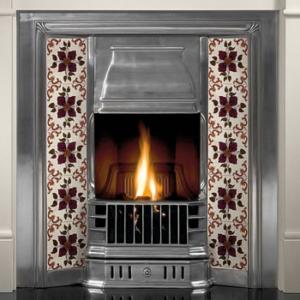 Prince Tiled Insert Fireplace-0