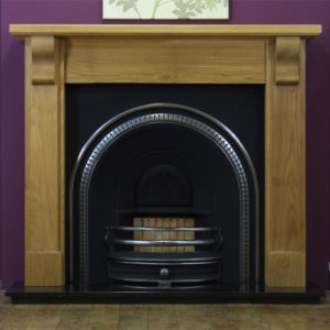 Tradition and Oak Bedford Wooden Fireplace -0