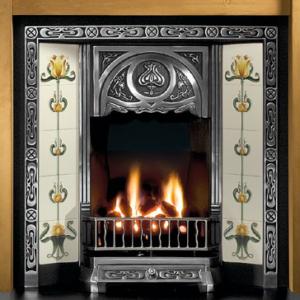 Tulip Tiled Insert Fireplace-0