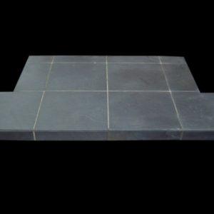 Riven Tiled Stove Hearth-0