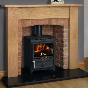 FDC5 Wide Multifuel Stove-0
