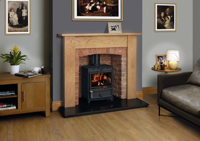 FDC5 Wide Multifuel Stove-2684